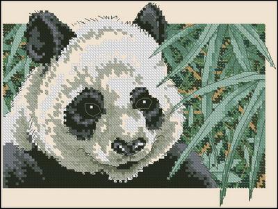 Панда Dimensions
