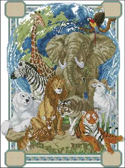 Животные Dimensions