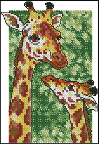 Жираф Dimensions