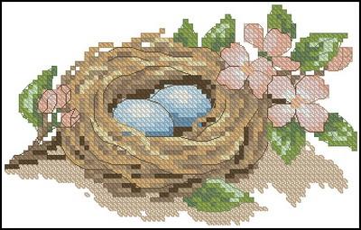Гнездо с яйцами Dimensions