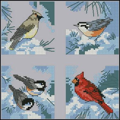 Птицы Dimensions