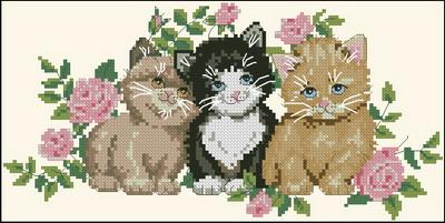 Три котенка Dimensions