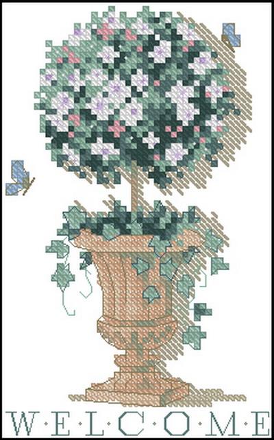 Цветы в горшке Dimensions