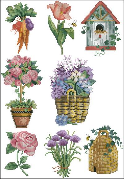 Цветы миниатюры Dimensions