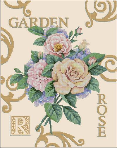 Цветы розы Dimensions