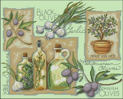 Масло и оливки Dimensions