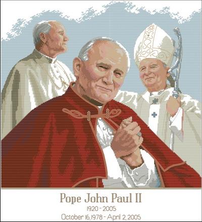 Папа Павел II Dimensions