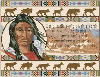Индейцы. Тихая прогулка Dimensions