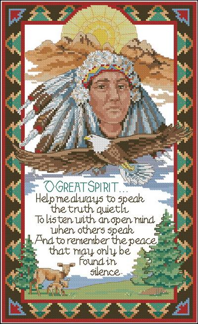 Индейцы. Большой дух Dimensions