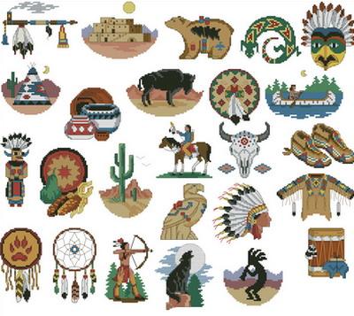 Индейцы. Родной дух Dimensions