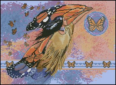 Индейцы. На крыльях бабочки Dimensions