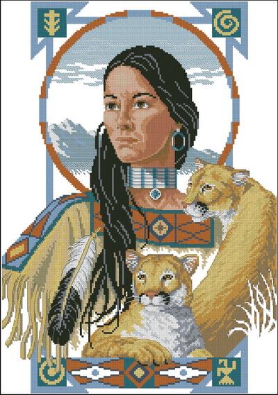 Индейцы. Дух опекуна Dimensions