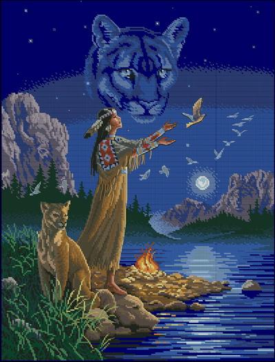 Индейцы. Тайный дух Dimensions
