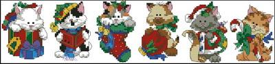 Рождественские коты Dimensions