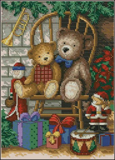 Рождественские мишки Тедди Dimensions