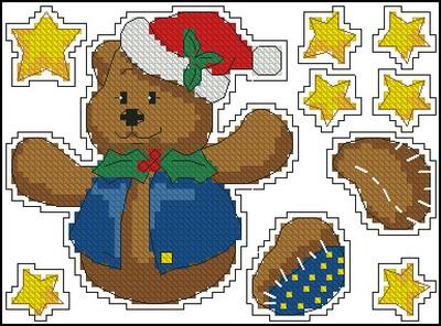 Рождественский медвежонок Dimensions