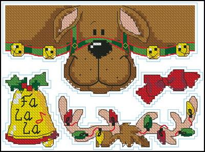 Рождественский олень Dimensions