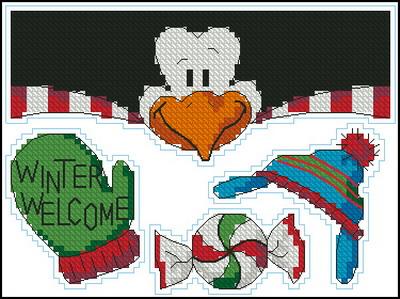 Рождественский пингвин Dimensions