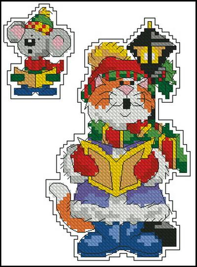 Рождественский кот Dimensions