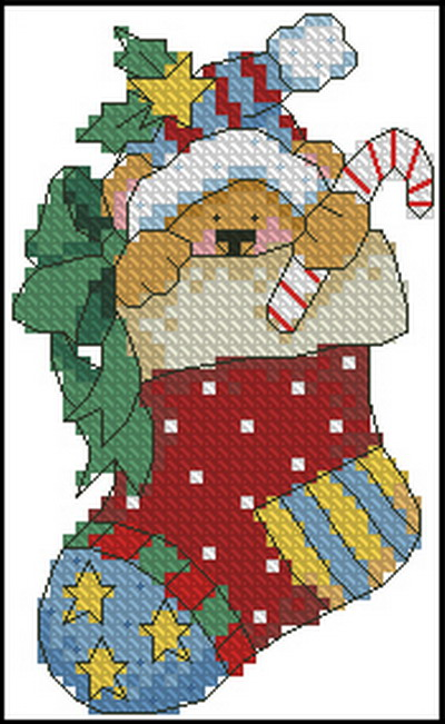 Рождественские носки Dimensions