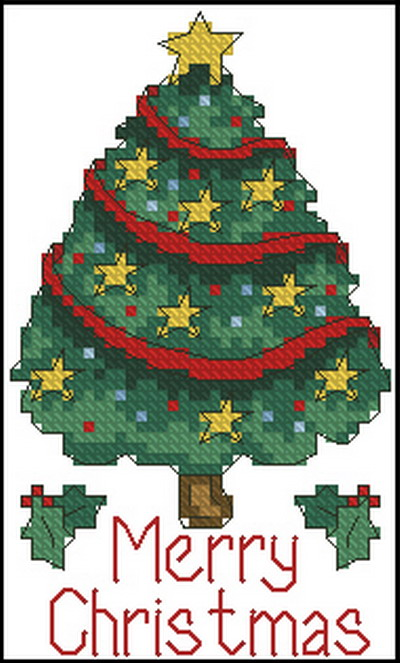 Рождественская елка Dimensions