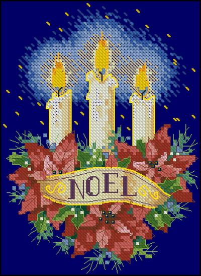 Рождественские свечи Dimensions