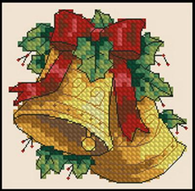 Рождественские колокольчики Dimensions