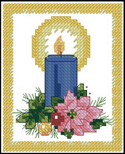 Рождественская свеча Dimensions