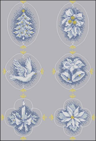Новогодние миниатюры Dimensions