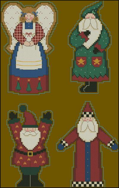Санта Клаус, дед Мороз Dimensions