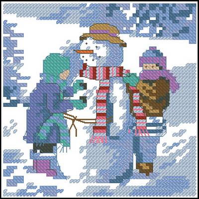 Снеговик Dimensions