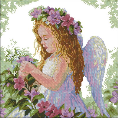 Девочка-ангел свадебное Dimensions