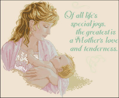 Мать и дитя Dimensions