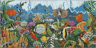 Морские рыбки Dimensions