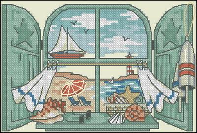 Окно с видом на море Dimensions