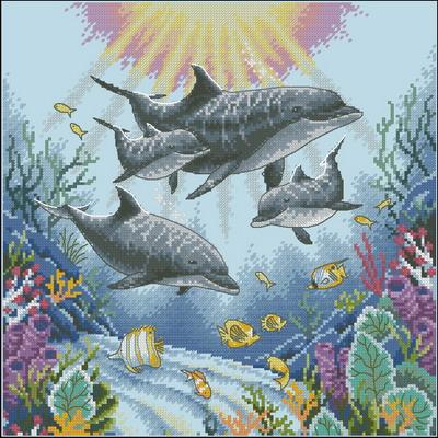 Дельфины Dimensions · Дельфины