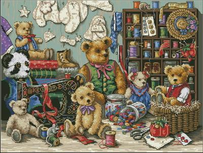 Teddy Bear Gathering-Gold