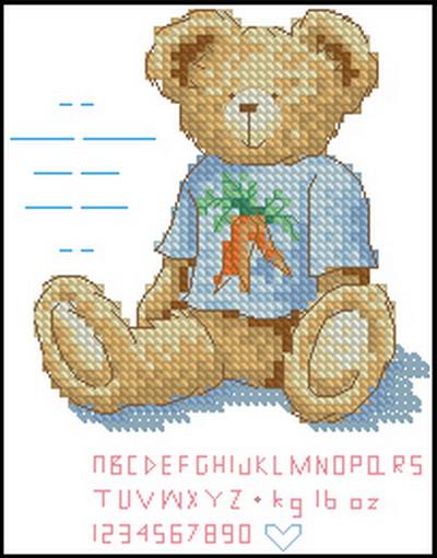 Мишка Тедди Dimensions