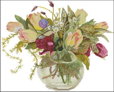 Цветы тюльпаны Fujic