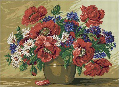 Goblenset Ваза с летними цветами