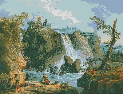 Goblenset Тивольский водопад
