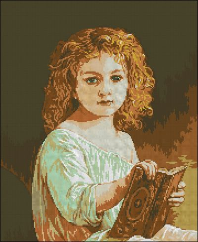 Goblenset Мария в детстве