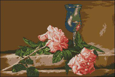 Goblenset Натюрморт с розами