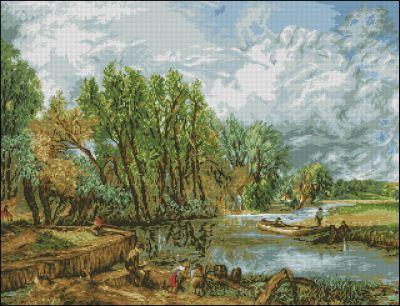 Goblenset На реке летом