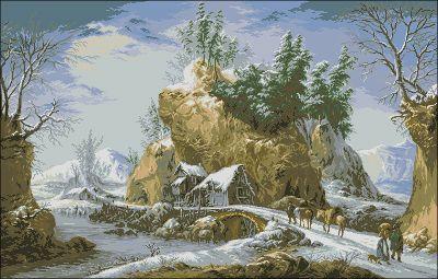 Goblenset Зима в Апеннинах