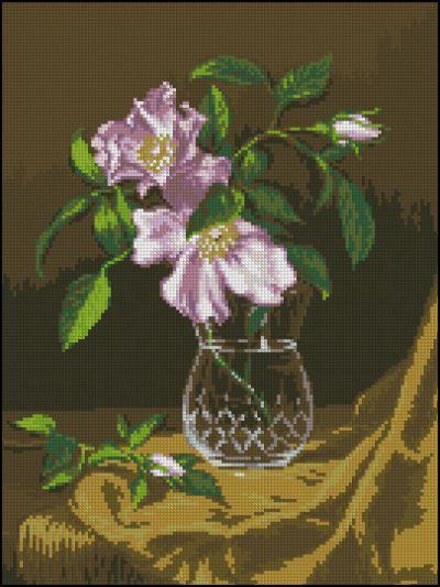 Goblense Ваза с кустовыми розами