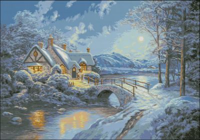 Goblenset Зимний пейзаж