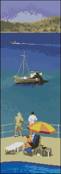 Панели John Clayton - Голубые воды