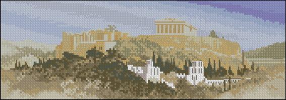 Панорама John Clayton - Акрополис