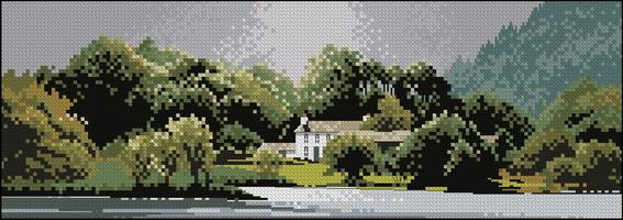 Панорама John Clayton - Дом у озера